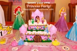 Princess Birthday Party Princess Castle Cake