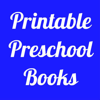 Printable Preschool Books HappyandBlessedHome.com