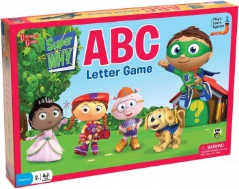 Super Why Game for Emergent Readers