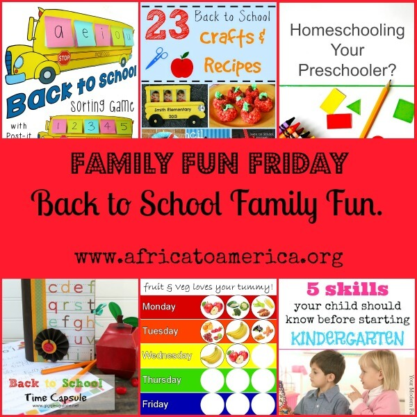 back to school family fun