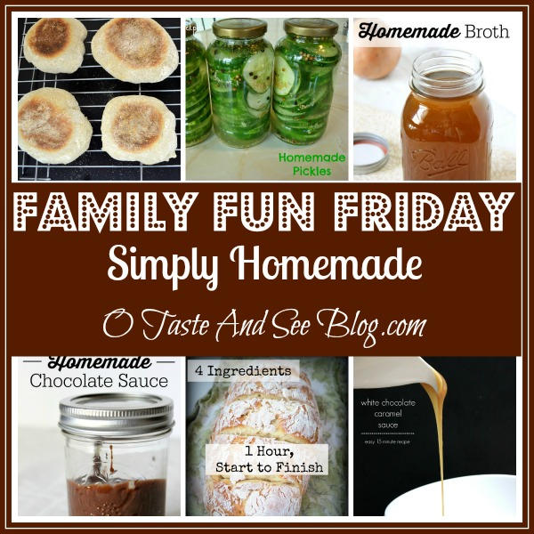 simply homemade family fun friday