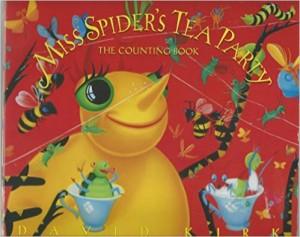 Mrs Spider's Tea Party - Children's Board Book