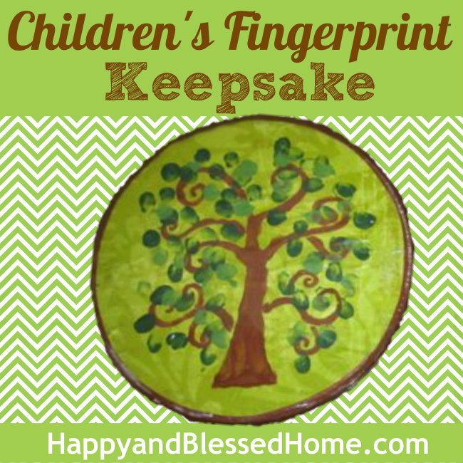 650 Childrens Fingerprint Keepsake HappyandBlessedHome.com