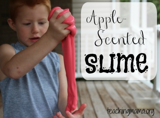 Apple-Scented-Slime