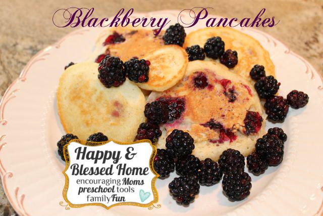 Blackberry-Pancakes-HappyandBlessedHome.com