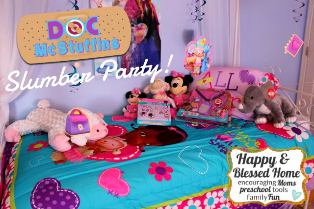 Doc McStuffins Bedding Slumber Party HappyandBlessedHome.com