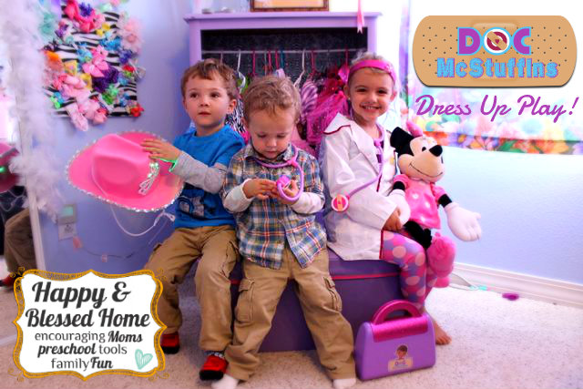 Doc McStuffins Costume Dress up Play HappyandBlessedHome.com
