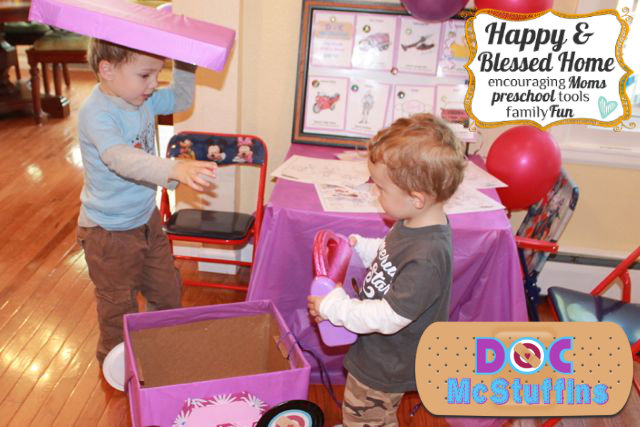 Doc McStuffins Party Games and Activities HappyandBlessedHome.com