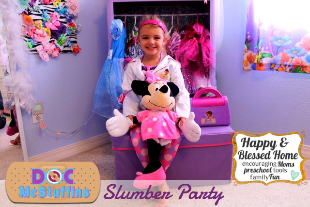 Doc McStuffins Slumber Party with Minnie Mouse HappyandBlessedHome.com
