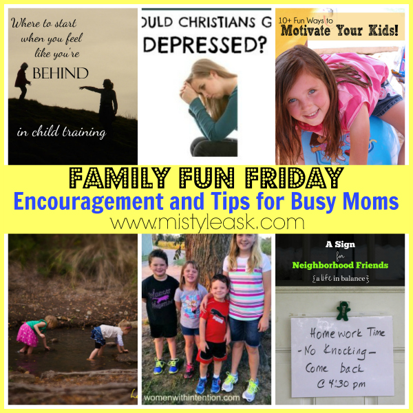 Encouragement and Tips for Busy Moms