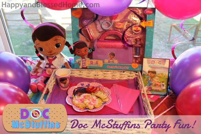 Doc mcstuffins slumber party fun and free printables fun doc mcstuffins slumber party breakfast surprise happyandblessedhome freerunsca