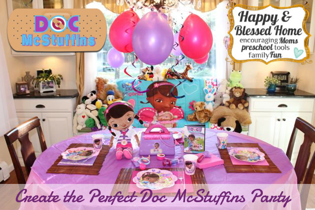Games and Fun Activities for the Perfect Doc McStuffins Party HappyandBlessedHome.com