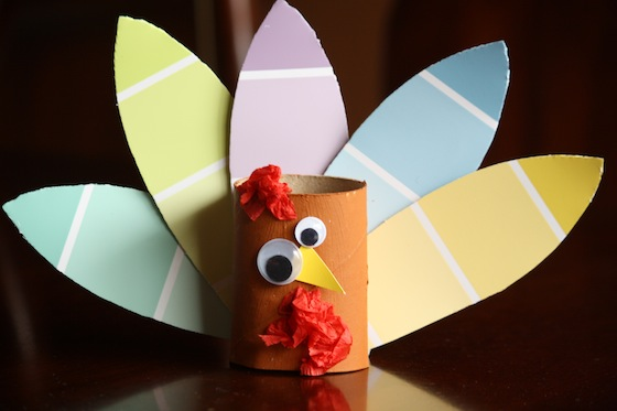 Preschool Craft Toilet Paper Roll Turkey