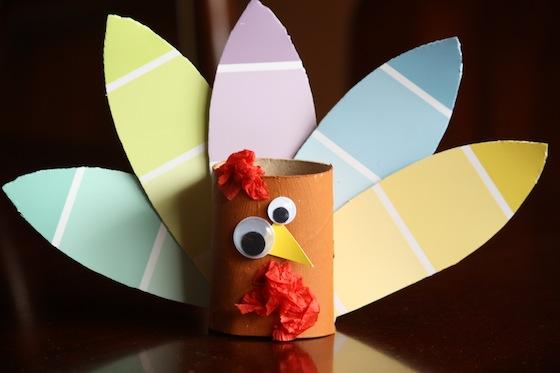Preschool Craft Toilet Paper Roll Turkey