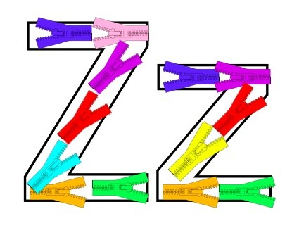 Learn to Read Preschool Alphabet Letter Z - Happy and Blessed Home