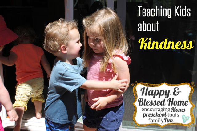 Encouraging Kindness In Kids >> Teaching Kids About Kindness Happy And Blessed Home