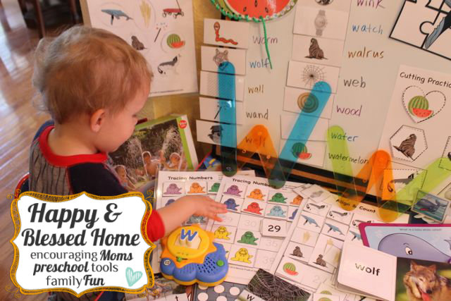 Alphabet Printable Letters And Activities Free for Preschoolers HappyandBlessedHome.com