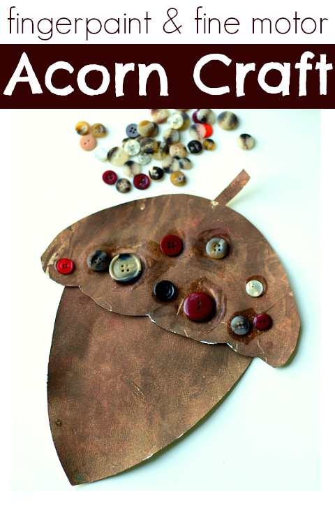 fingerapaint-and-fine-motor-acorn-craft-for-preschool1