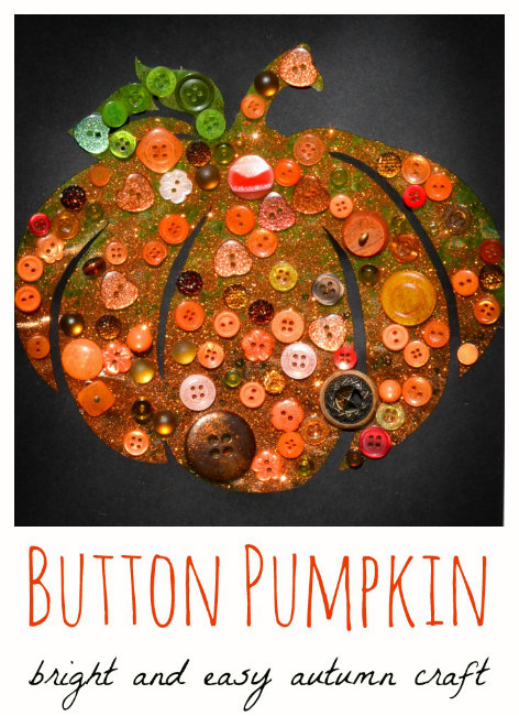small-Button-Pumpkin-Autumn-Craft-for-Children-1
