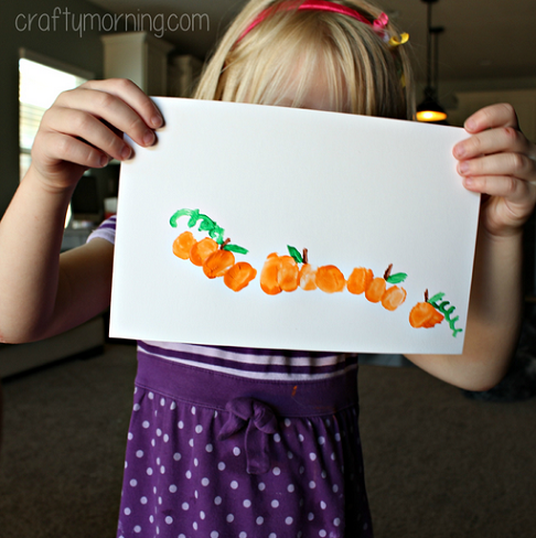 thumbprint-pumpkin-craft-for-kids