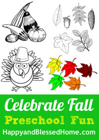 FREE Fall Printables at HappyandBlessedHome.com
