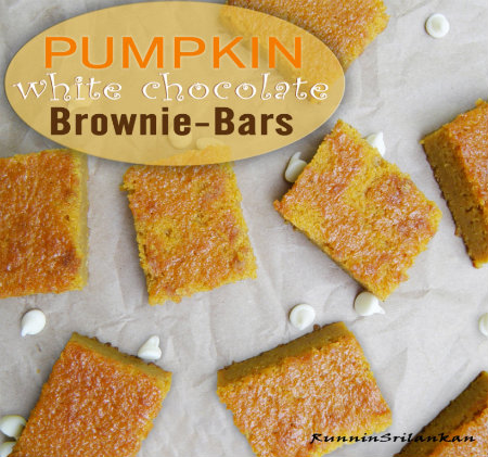 450 pumpkin white chocolate bars recipe