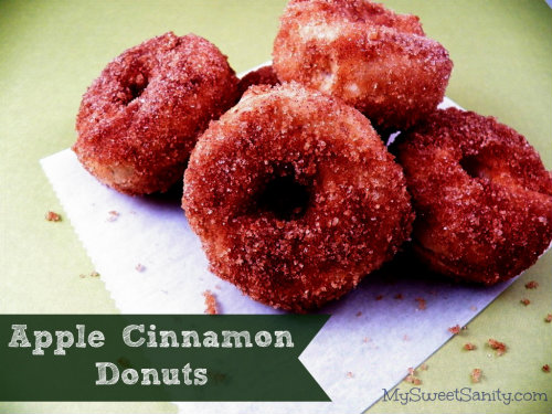 500 Apple-Cinnamon Cider Donuts Recipe