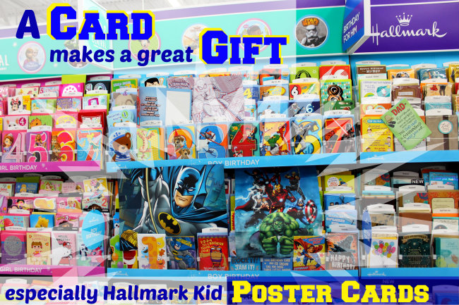 650 Hallmark Kid Poster Cards at Walmart HappyandBlessedHome