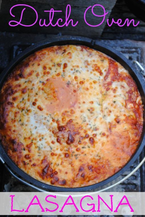 Dutch-Oven-Lasagna