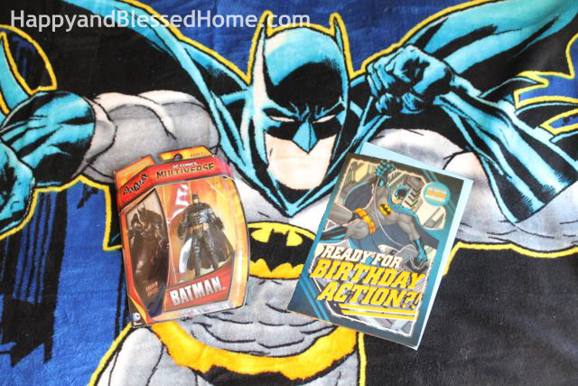 Hallmark Batman Birthday Card and Birthday Gifts HappyandBlessedHome.com