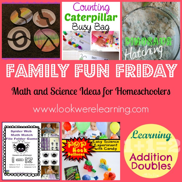 Math and Science Ideas for Homeschoolers