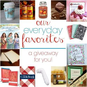 My Favorite Things Giveway
