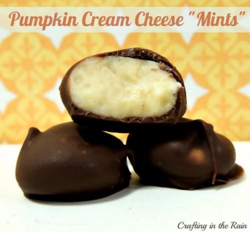 Pumpkin Cream Cheese Candy