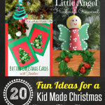 20 Fun & Easy Christmas Crafts for Kids & $500 Giveaway