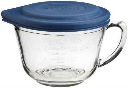 450 Kitchen Tools Mixing Bowl with Handle and Lid HappyandBlessedHome
