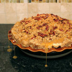 Carmel Pecan Apple Pie Photo Copyright 2014 HappyandBlessedHome.com