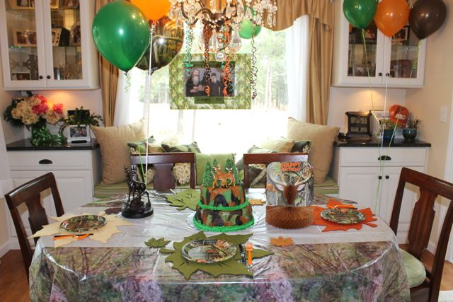 Duck Dynasty Hunting Theme Birthday Party BR HappyandBlessedHome