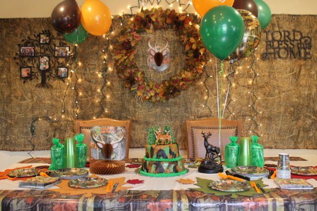 Duck Dynasty Hunting Theme Birthday Party DR2 HappyandBlessedHome
