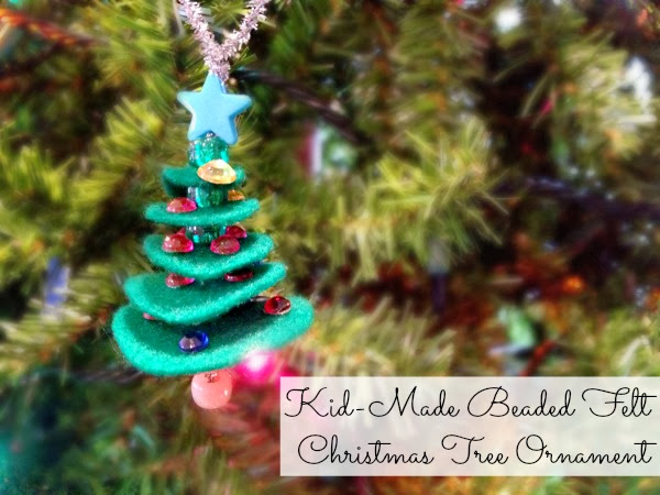 Felt Christmas Tree Ornament Title 2