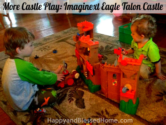 Fisher-Price Imaginext Eagle Talon Castle HappyandBlessedHome.com