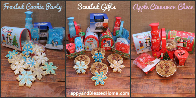 Glade Scented Holiday Gifts 650 HappyandBlessedHome.com