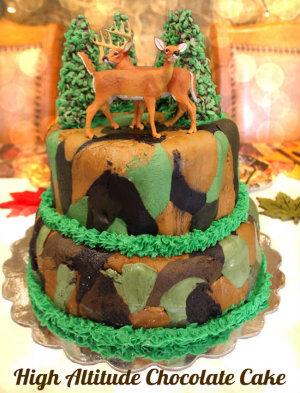High Altitude Chocolate Cake 300 Bokeh HappyandBlessedHome