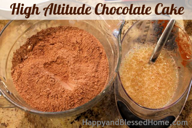 How to Make a High Altitude Chocolate Cake Mix Birthday Party HappyandBlessedHome