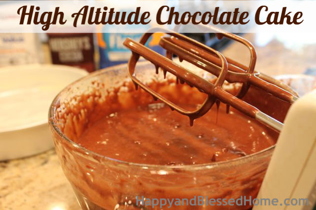 How to Make a High Altitude Chocolate Cake Thin Mix Birthday Party HappyandBlessedHome