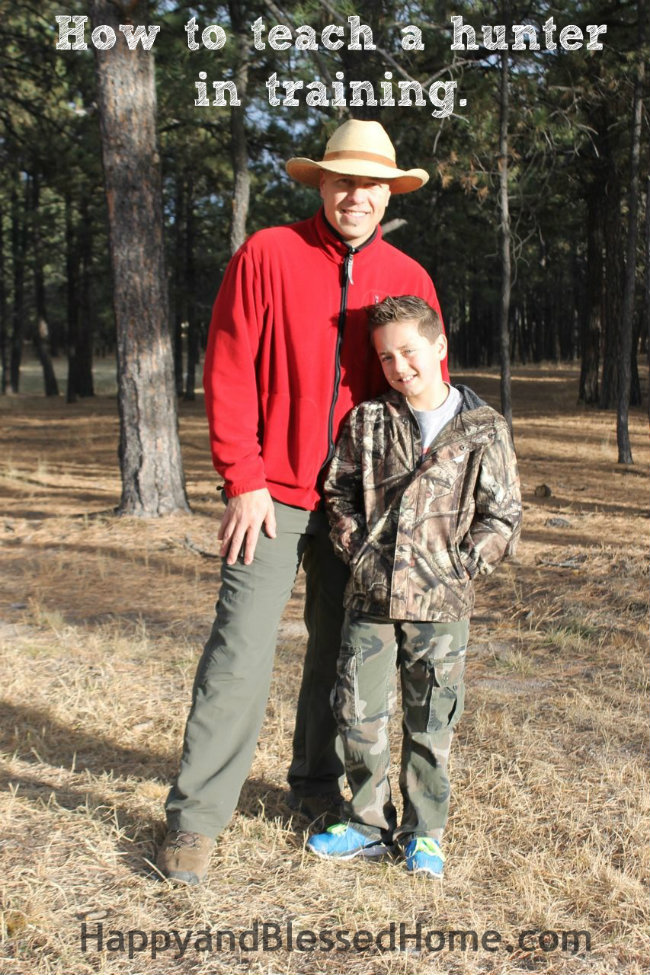 How to teach a hunter in training with Bass Pro Red Ryder Daisy BB Gun HappyandBlessedHome.com