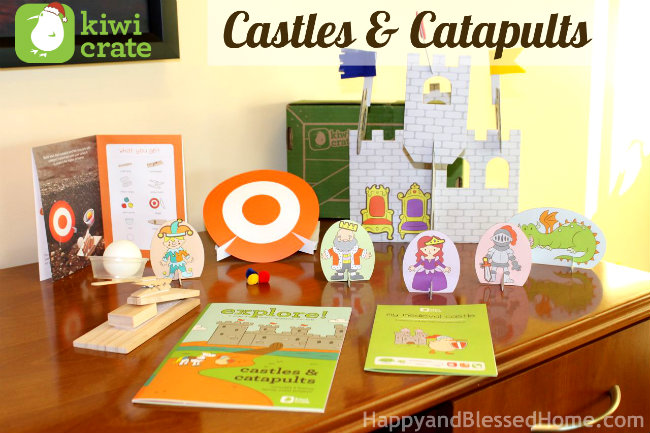 Preschool Activities with Castles, Catapults and Shields and FREE Shield Printables HappyandBlessedHome.com