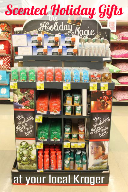 Scented Holiday Gifts from Glade's Winter Collection at your local Kroger Store