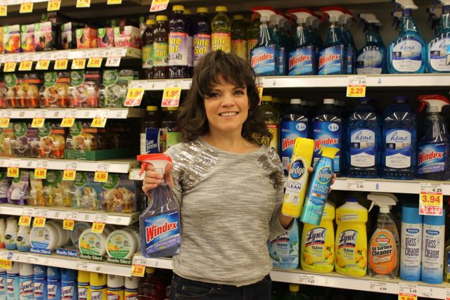 Windex and Pledge at Kroger