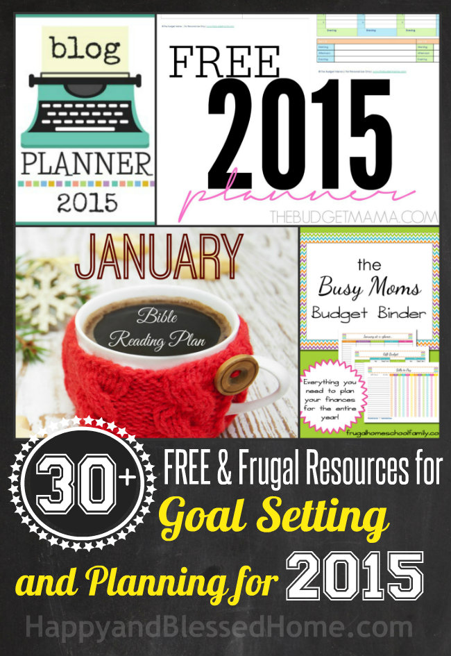 Goal Setting Tools and Planners for the New Year