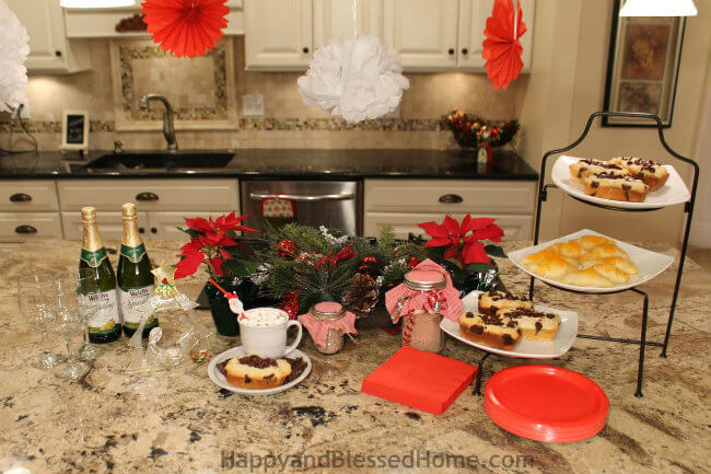 50 Point Party Planning Checklist and Kraft Chocolate Cream Cheese Loaf Recipe HappyandBlessedHome.com